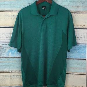 Nike Golf Dri Fit Green Polo Shirt